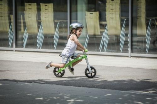 Velmi lehké dětské odrážedlo Micro G-Bike, švýcarská kvalitní odrážedla pro malé děti 2-5 let