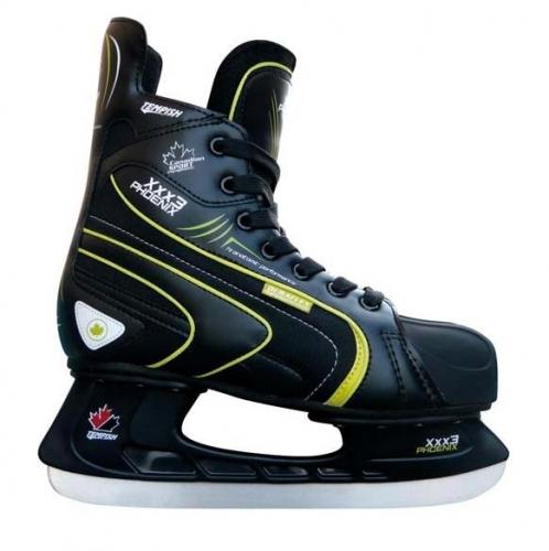 Sportovní brusle na lední hokej Tempish Phoenix black green 9392ff7ad3