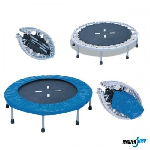 Dětská skládací trampolína 120 cm do 100kg, skladné a přenosné trampolíny pro děti