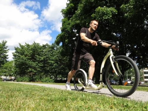 """Koloběžka pro dospělé Kickbike Cruise Max 26-20"""", silniční koloběžky do města i terénu"""