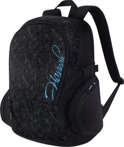 Dámský městský batoh Hannah Chine caviar/scuba blue