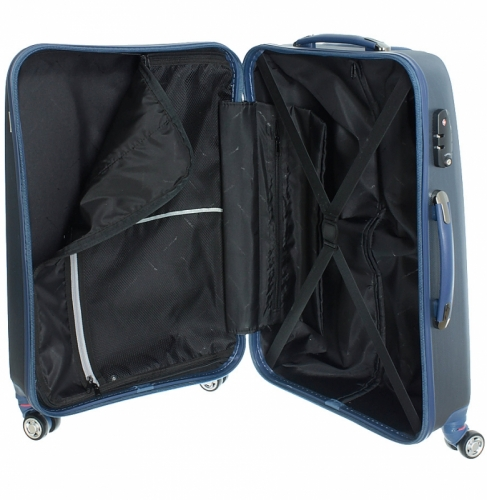Velký odlehčený cestovní kufr na 4 kolečkách March New Carat L 74 cm - AKCE