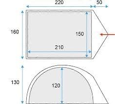 Stan pro 2 osoby Loap Vats 2, malé stany pro dva - AKCE