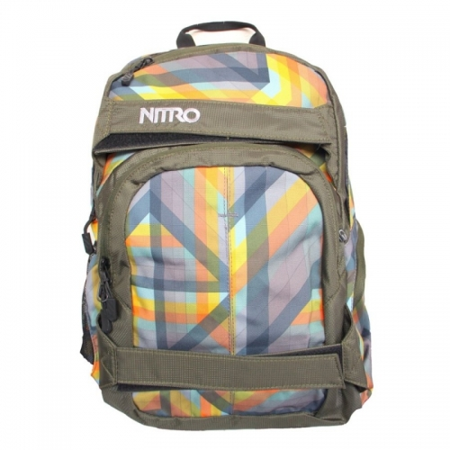 Batoh Nitro Drifter geo orange - VÝPRODEJ