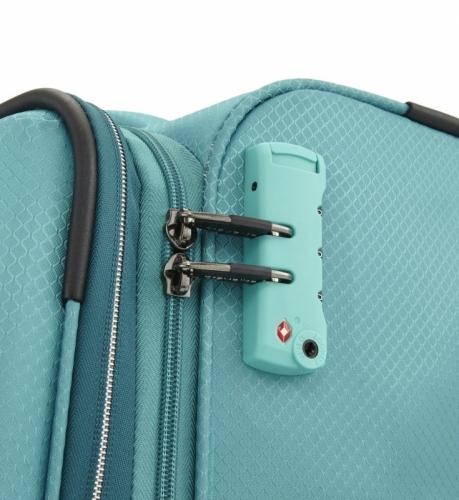 Velký ultralehký textilní kufr na kolečkách Travelite Kite 75 cm, cestovní kufry na 4 kolečkách
