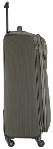 Velký textilní rozšiřitelný kufr na čtyřech kolečkách Travelite Derby 4w  - AKCE