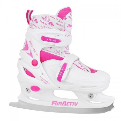 Dětské nastavitelné zimní brusle Fun Activ Select Ice Girl posuvné