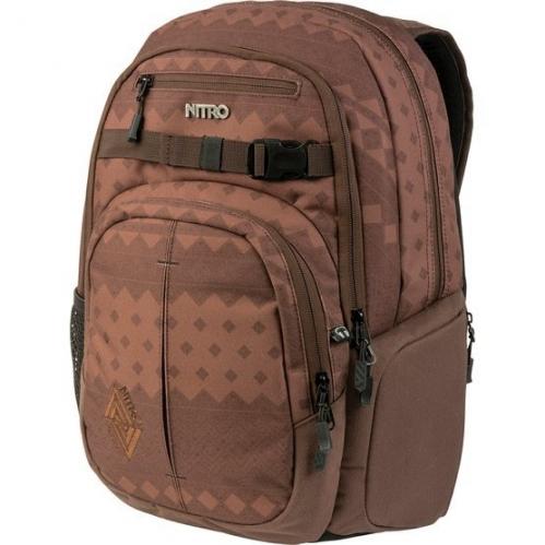 Mětsský batoh Nitro Chase northern patch 35 L hnědý