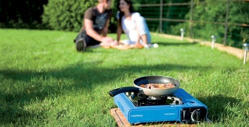 Stolní vařič na plyn s 1 plotýnkou a regulací plamene Campingaz