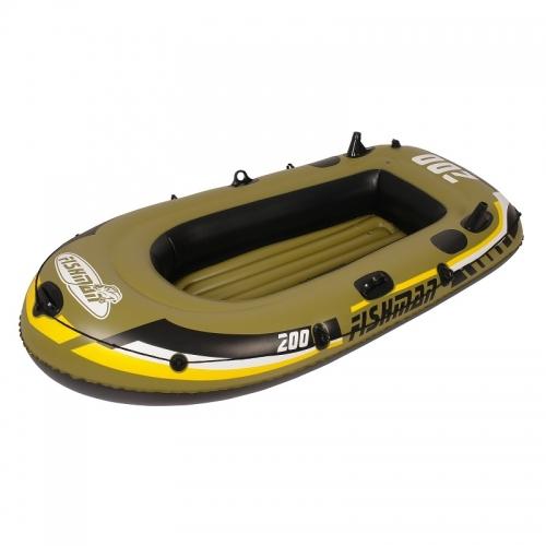 Levný nafukovací člun do vody, rybářské levné čluny pro 2 osoby s pádly a pumpou - AKCE