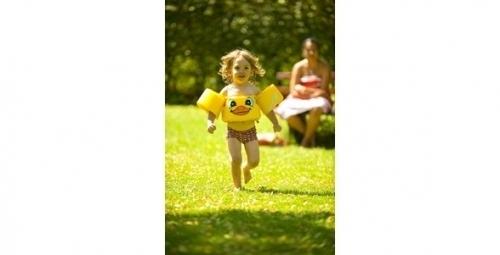 Dětská plavací vesta s rukávky do vody Sevylor