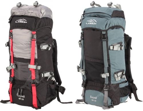 1d61cf90167 Větší turistický batoh Loap 60+10 L