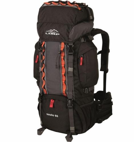 65146842d30 Turistický dvoukomorový batoh Loap 65L s pláštěnkou