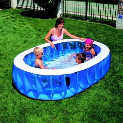Venkovní Nafukovací Bazén Pro Děti 234 X 152 Cm Dětské