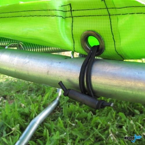 Skákací trampolína s ochrannou sítí 430 cm, kvalitní levné trampolíny se sítí