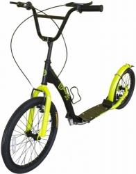 Kvalitní koloběžka s nafukovacími koly pro dospělé a juniory, nafukovací koloběžky silniční