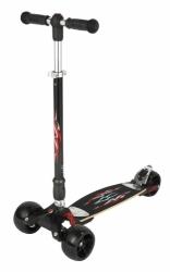 Skládací Kickboard tříkolová koloběžka Micro Monster, stabilní široká kolečka, carvingová jízda