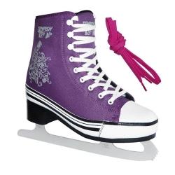 Dámské brusle na led, fialové zimní brusleTempish pro ženy a dívky