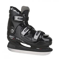 Sportovní a hokejové lední brusle s přezkami, brusle na led Tempish Pro