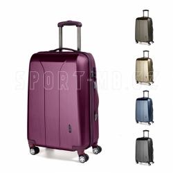 Skořepinové cestovní kufry March New Carat 59 cm, pevný plastový menší kufr