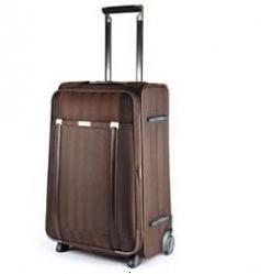 Velký rozšiřitelný kufr na 2 kolečkách Carlton 72 cm brown/čokoládová