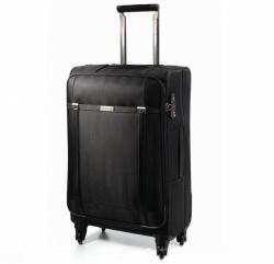 Textilní nylonový kufr na 4 kolečkách Carlton Ascot 68 cm, lehké kvalitní zavazadlo se zámkem