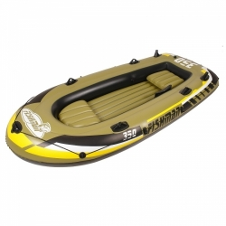 Nafukovací rybářský člun Fishman, levné nafukovací čluny rybářské + 2 pádla, pumpa, sedátka