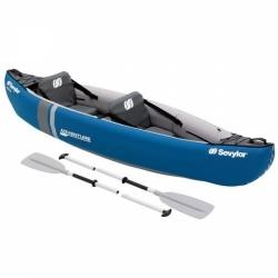 Turistická nafukovací kanoe Sevylor pro 2 osoby + pádla, pumpa