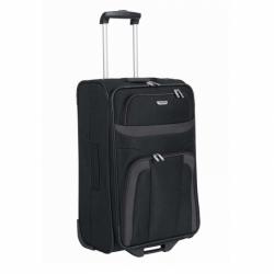 Látkový kufr na 2 kolečkách Travelite Orlando 63 cm černý, levné kufry s kolečky