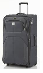 Kvalitní středně velký textilní kufr na 2 kolečkách Titan Nonstop M 68 cm