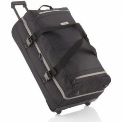 Velká cestovní taška Travelite Basics Doubledecker na 2 kolečkách s vysouvacím madlem