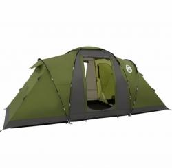 Campingový stan Coleman Bering 4 osoby, rodinný kempingový stan oddělené 2 ložnice