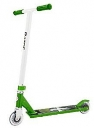 Freestyle koloběžka Razor PRO X zelená pro začínající jezdce, juniory a děti