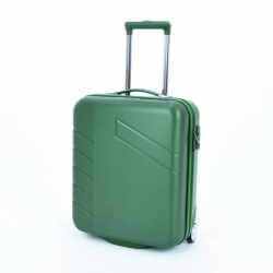 Příruční kufr s TSA zámkem na kolečkách Travelite Tourer 2w S zelený