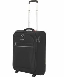 Palubní kufr Travelite Cabin 55 cm, lehké textilní kabinové zavazadlo na 2 kolečkách a vysouvacím madlem