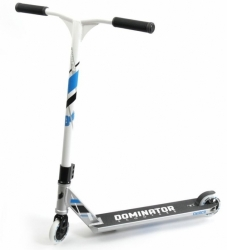 Freestyle koloběžka Dominator Sniper Scooter silver/white