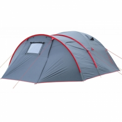 Velký campingový rodinný stan se 2 ložnicemi a předsíní Loap Vall pro 4-6 osob