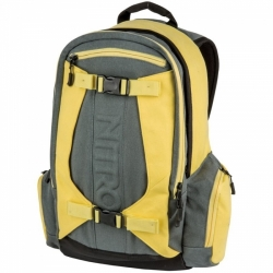 Městský i sportovní batoh Nitro Zoom gunmetal žluto/šedý