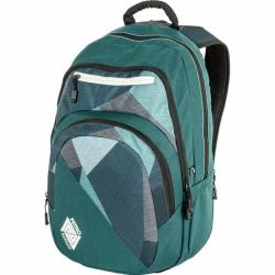 Městský kvalitní batoh Nitro Stash fragments green