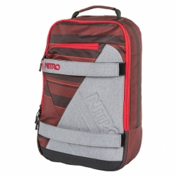 Batoh Nitro Axis red stripes