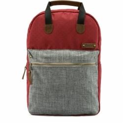 Mětský batoh G.RIDE Benedicte red/grey, dámské stylové botohy do města