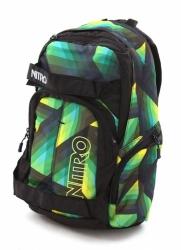 Městský skate batoh Nitro Drifter Geo green / zelený