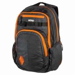 Batoh Nitro Chase blur orange trims, městské batohy na skate i do školy