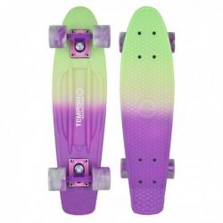 """Dívčí skateboard pro děti Tempish Buffy Sweet 22,5"""" green/purple"""