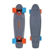 """Plastový skateboard levně, penny board Tempish Buffy grey / šedý 22,5"""" 57 cm"""