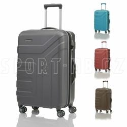 Rozšiřitelný plastový kufr na 4 kolečkách Travelite Vector 4w 70 cm
