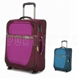 Příruční kufr na 2 kolečkách Travelite Meteor 55 cm, textilní kufry do letadla