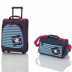 Dětská sada malého cestovního kufru a tašky Travelite Youngster Pirate