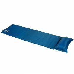 Samonafukovací karimatka s nafukovacím polštářkem Loap Zola modrá 186 x 53 x 2,5 cm