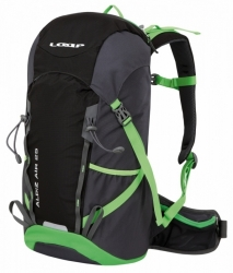 Hikingový a turistický batoh Loap Alpiz Air 25 L black/green